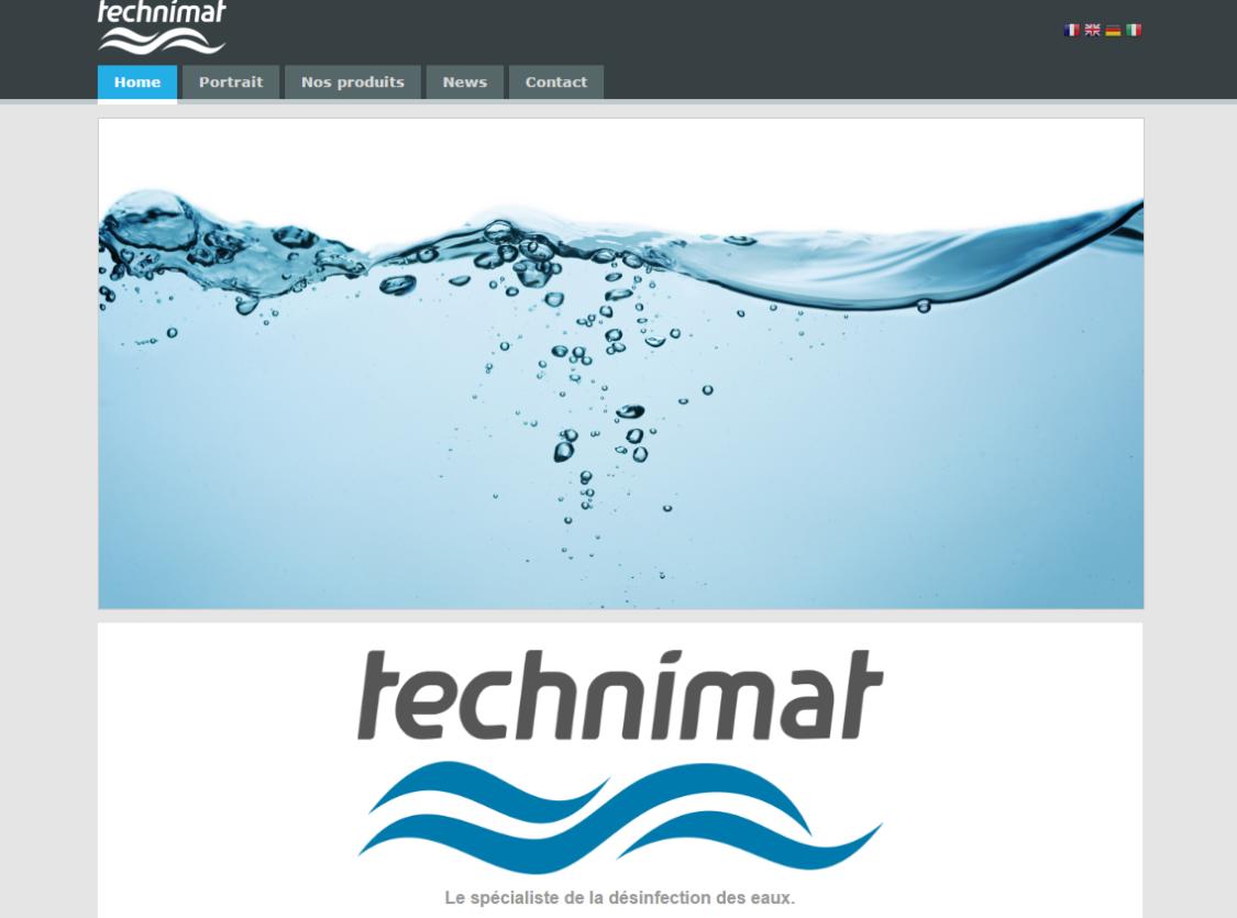 Technimat (Entreprise de désenfection d'eux) - Suisse