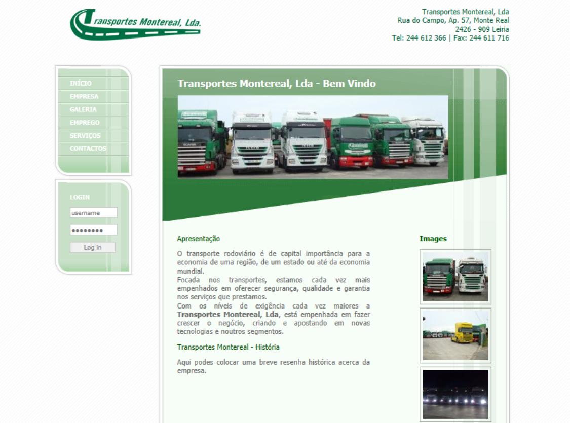 Transportes Monte Real - Portugal